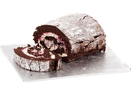 Fresh Cream Swiss Roll Chocolate