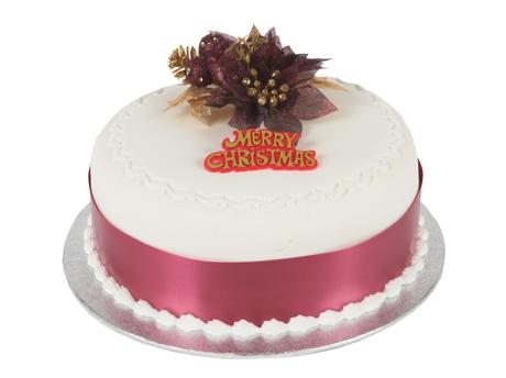 Red Xmas Cake