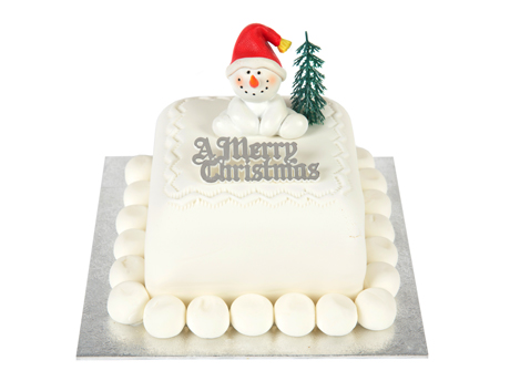 Snowman Xmas Cake