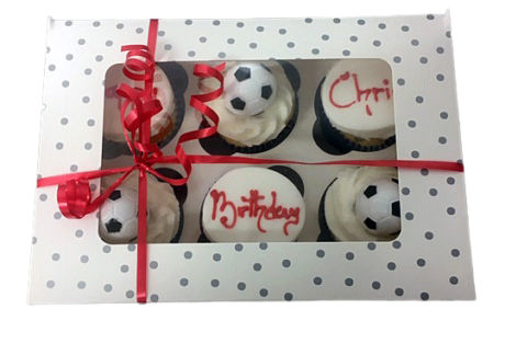 Personalised Cupcakes from Essex Baker's Grouts