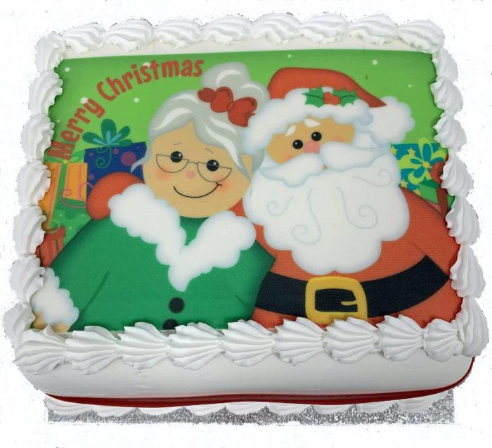 santa cake for blog post